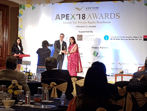 APEX 2018 - Multiples receives award for best deal of the year in the listed category for RBL Bank